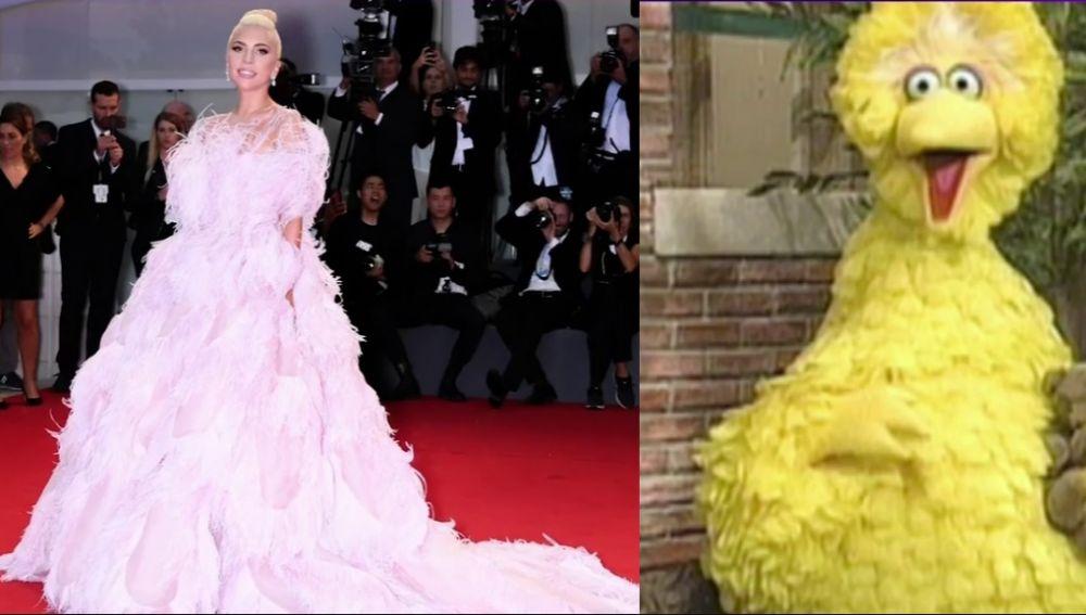 Lady Gaga y su parecido con la gallina Caponata