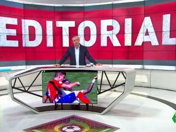 """Josep Pedrerol: """"Que el Atleti rectifique por lo más importante, por la imagen del capitán del Atleti B"""""""