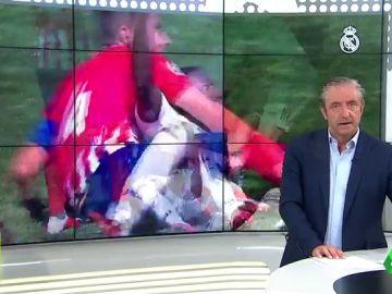 El capitán del Atleti B trató de morder a Vinícius Jr en pleno partido