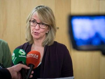 La portavoz socialista de la Comisión sobre el Pacto de Toledo, Mercè Perea