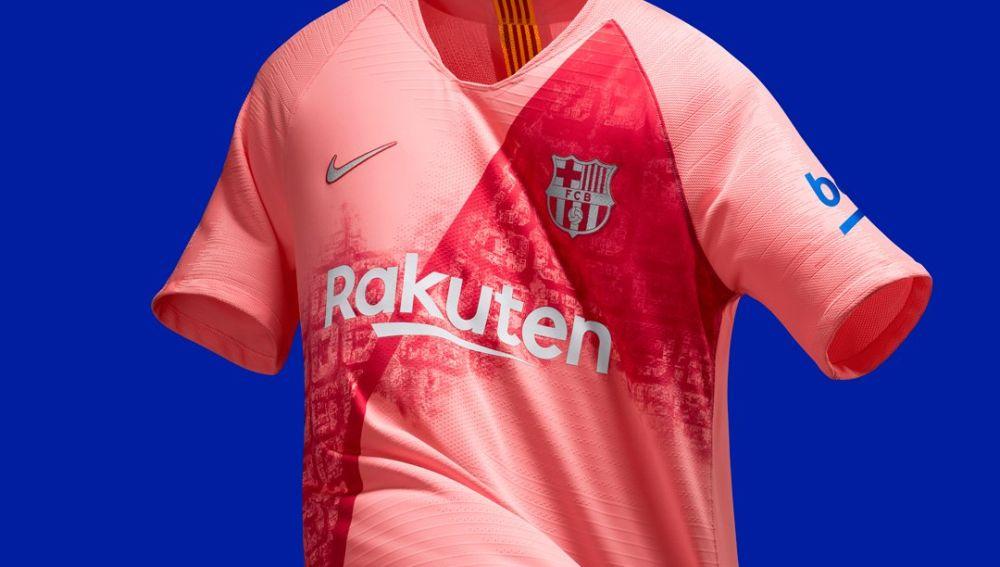El Barcelona presenta su tercera equipación para esta temporada  0c737d00112