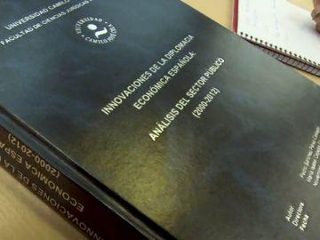 La tesis de Sánchez puede consultarse en la universidad pero sin hacer copias