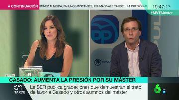 El secretario de Participación del PP, José Luis Martínez Almeida