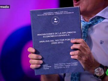 La tesis doctoral de Pedro Sánchez