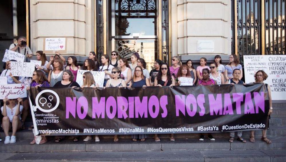Manifestación contra la violencia machista