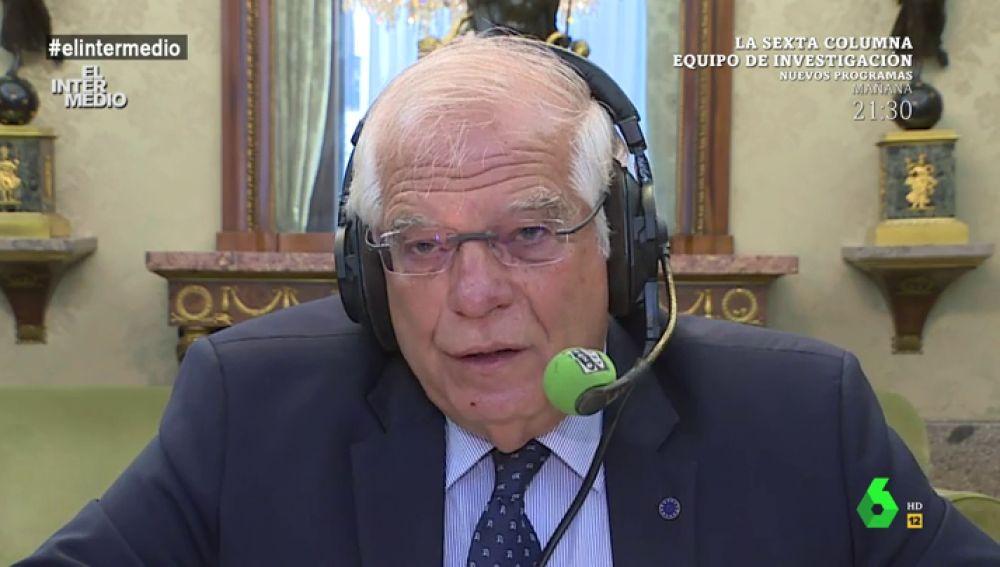 El ministro de Asuntos Exteriores Josep Borrell