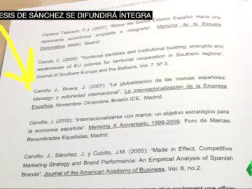 Imagen de la tesis de Pedro Sánchez