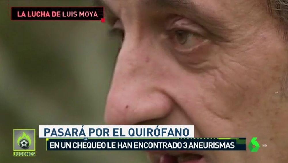 Luis Moya tendrá que operarse de 3 aneurismas cerebrales