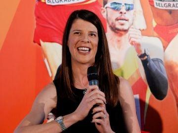 La medallista olímpica Ruth Beitia