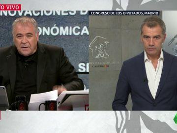 """Toni Cantó: """"Con sólo llevar el carne del PP o del PSOE en la boca tienen una ventaja sobre otros estudiantes españoles"""""""