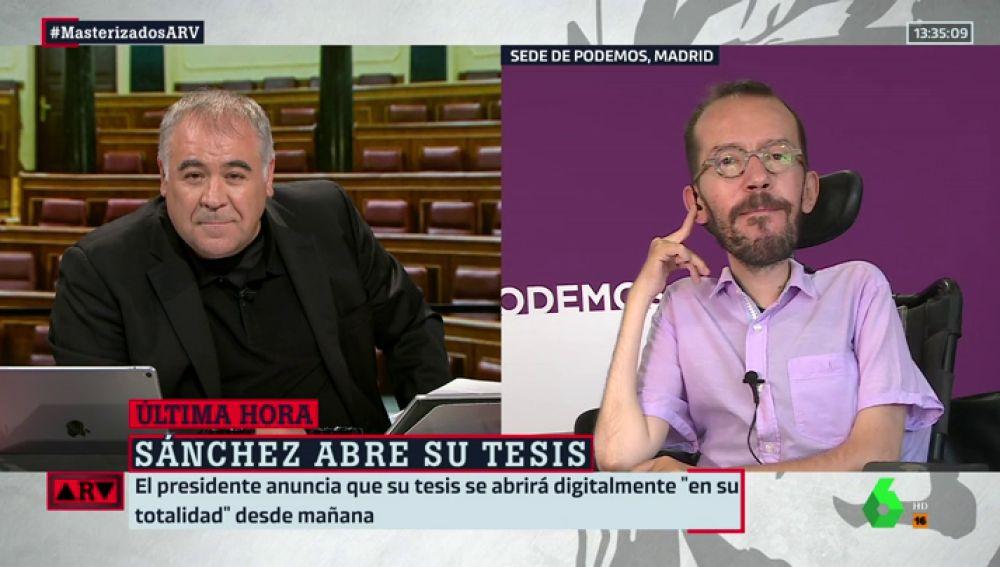 """Pablo Echenique: """"La decisión de Sánchez le quita la última excusa a Casado para seguir insultando la inteligencia de los españoles"""""""