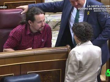 Pablo Iglesias habla en el Congreso