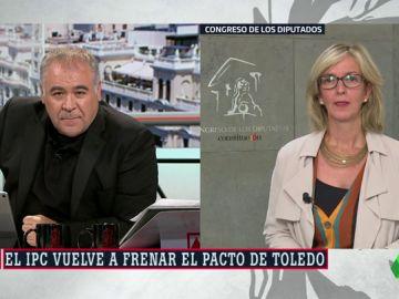 """Mercé Perea: """"No acabo de entender el porqué de poner bajo sospecha la revalorización de las pensiones"""""""