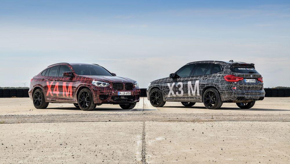 BMW X3 M X4 M Nürburgring 2018