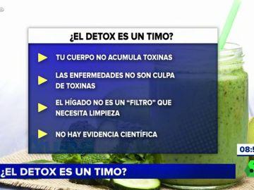 ¿Es el detox un timo?