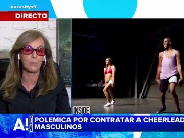 María Estévez explica la polémica con los cheerleaders