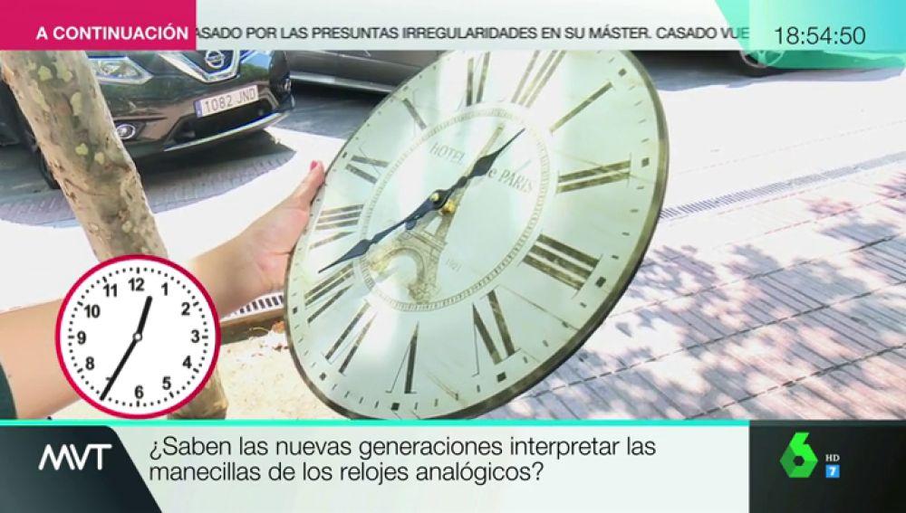 El Demuestra Leer En Relojes Sabemos Que Vídeo Lo Analógicos Es La Hora Y Este ComprobadoNo YH29EIWD