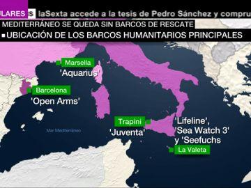 La crisis migratoria es silenciada: en el Mediterráneo no hay barcos de rescate