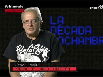 Víctor Claudín, parado de larga duración