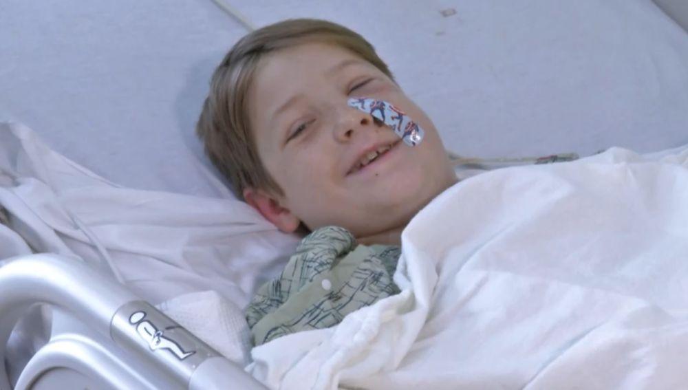 Xavier tras la operación