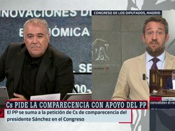 """Jaime de Olano: """"Solicitaremos la comparecencia en el Congreso para que Sánchez dé las explicaciones que se niega a dar voluntariamente"""""""