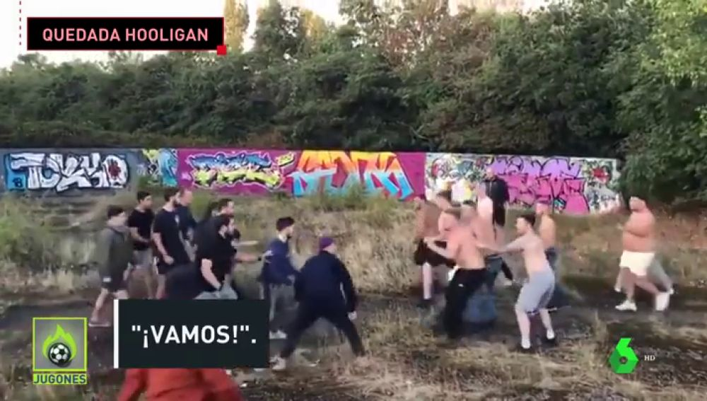 pelea hooligans