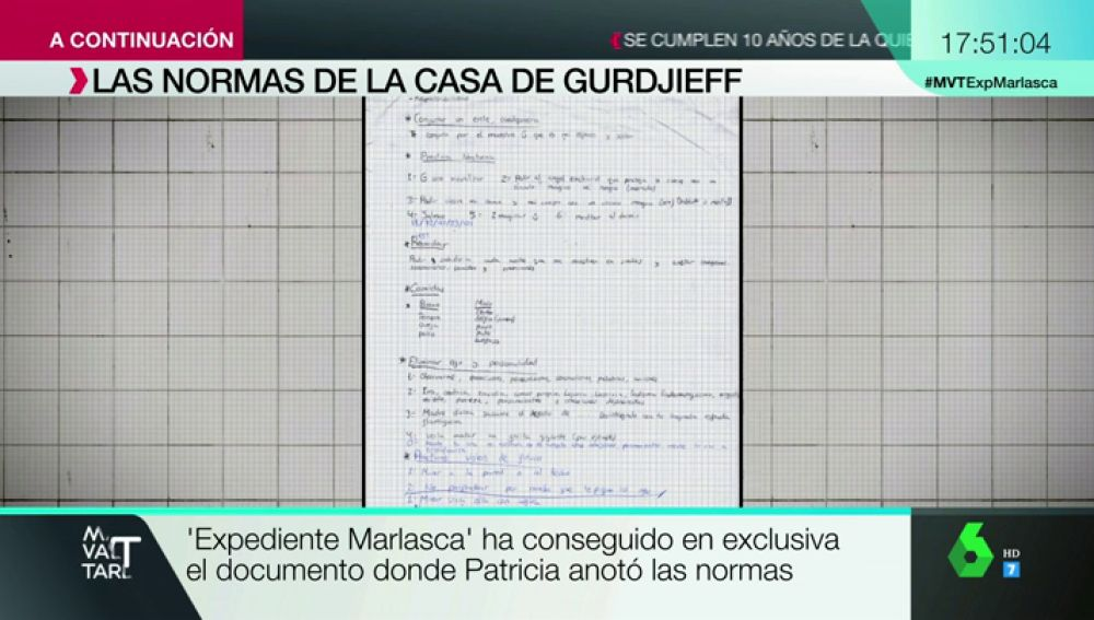 Las normas de la secta que capturó a Patricia Aguilar