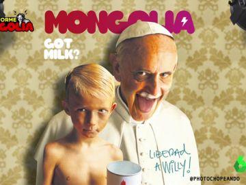 La polémica portada de la revista Mongolia sobre el papa Francisco