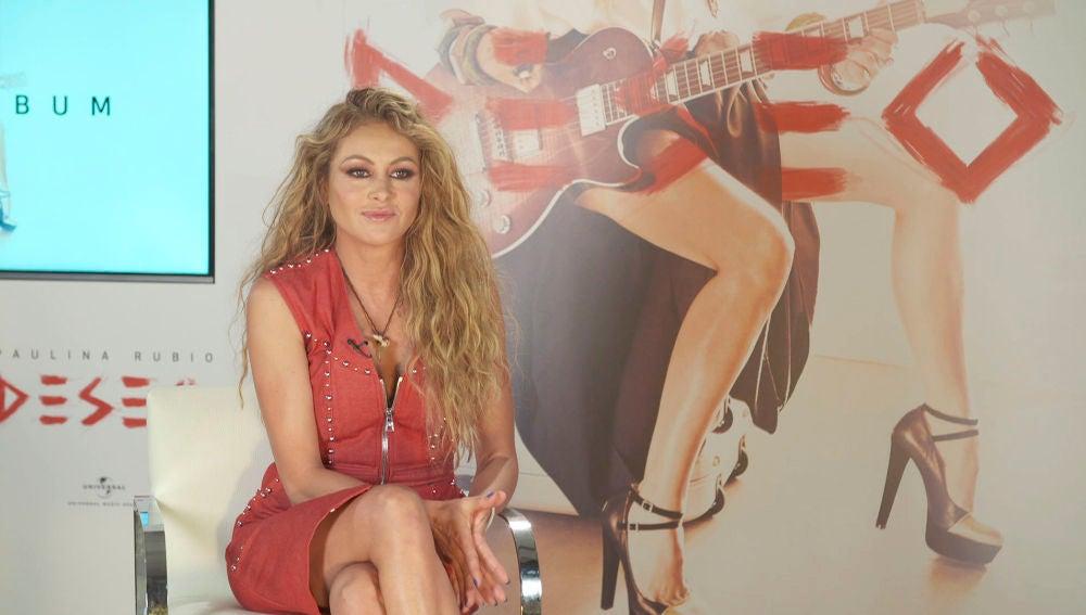Paulina Rubio en La Voz