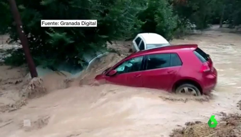 Imagen de las inundaciones en Loja