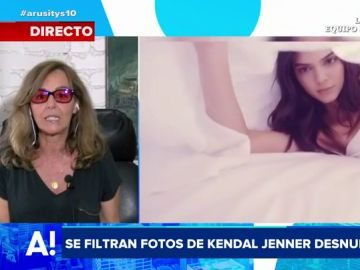 Se filtran fotografías de Kendal Jenner desnuda