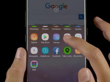 Como utilizar la herramienta de pantalla dividida en tu móvil