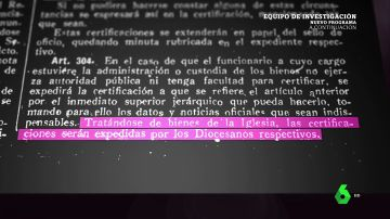 ¿Qué son las inmatriculaciones? La ley franquista que llegó hasta la democracia y que hizo multipropietaria a la iglesia