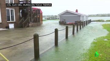 Inundaciones y 400.000 familias sin electricidad: el huracán Florence toca tierra