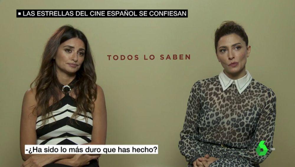 Penélope Cruz y Bárbara Lennie