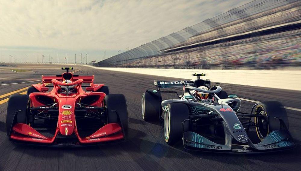 Bocetos de los monoplazas de F1 para 2021