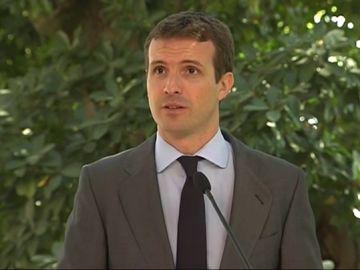 Pablo Casado en Portugal