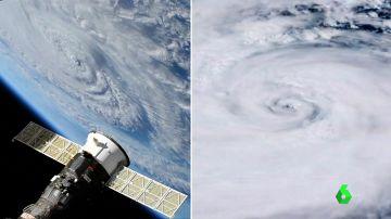 Así se ven desde el espacio el huracán Florence y el tifón Mangkhut