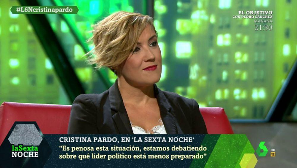Cristina Pardo en laSexta Noche