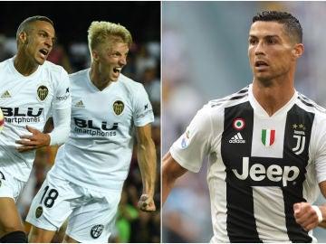 Valencia - Juventus, partido de la primera jornada de la Champions