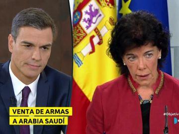 Pedro Sánchez e Isabel Celaá