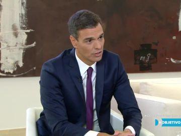 Pedro Sánchez en El Objetivo