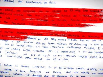 La carta de Patricia Aguilar explicando el calvario que vivió en Perú