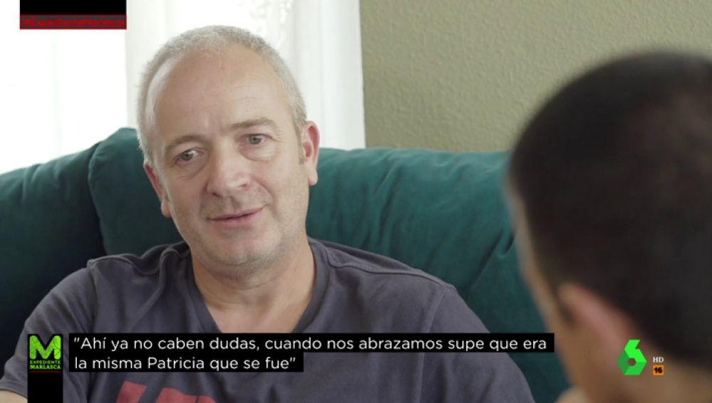 Alberto Aguilar, padre de Patricia