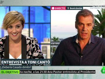 Cristina Pardo y Toni Cantó