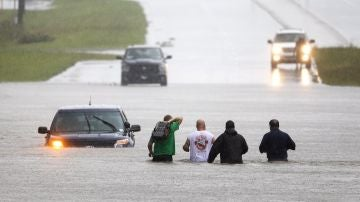 Imagen de las inundaciones consecuencia del huracán Florence en EEUU