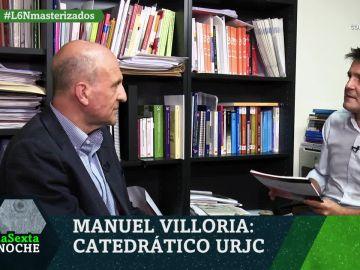 Manuel Villoria, catedrático de la URJC