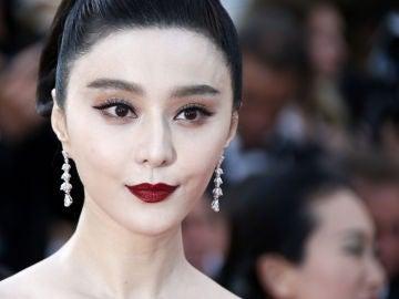 La actriz china Fan Bingbing, durante el Festival de Cannes