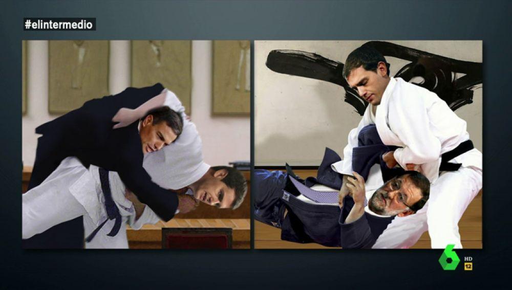 """El Gran Wyoming: """"Muchos pensaban que Rivera pactaba con PP y PSOE, pero si les daba la mano era para hacerles una llave de judo"""""""