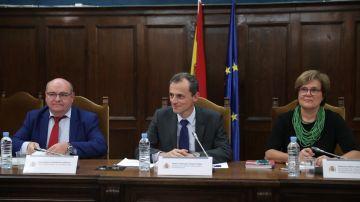 El ministro de Ciencia, Innovación y Universidades, Pedro Duque presidiendo el Pleno del Consejo de Universidades